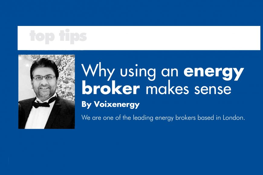 Our latest article on Energy Brokers